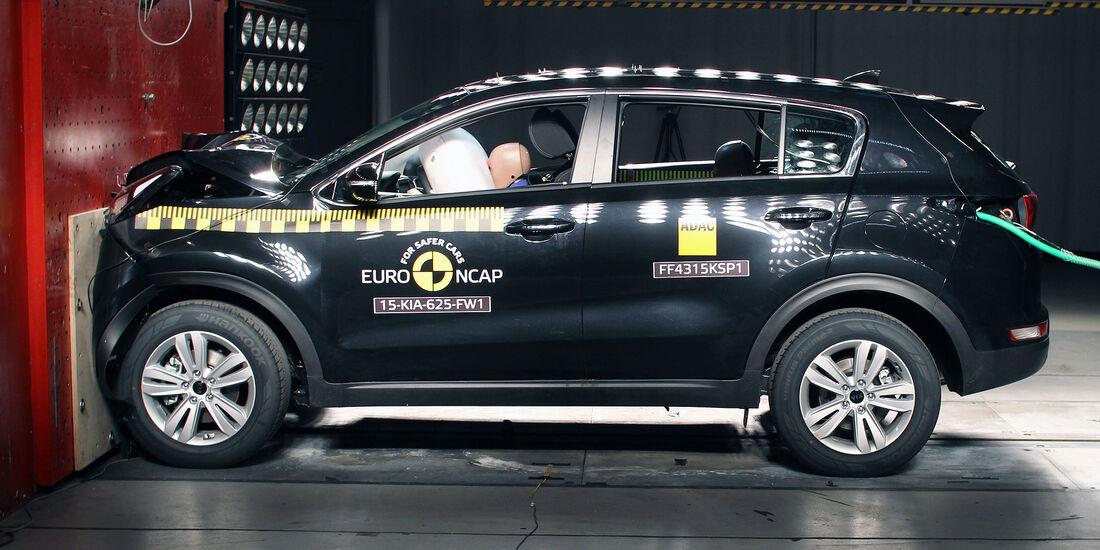 12/2015 EuroNCAP Crashtest Kia Sportage