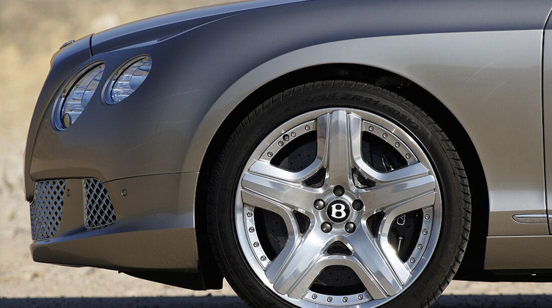 1210, Bentley Continental GT, Rad, Felge