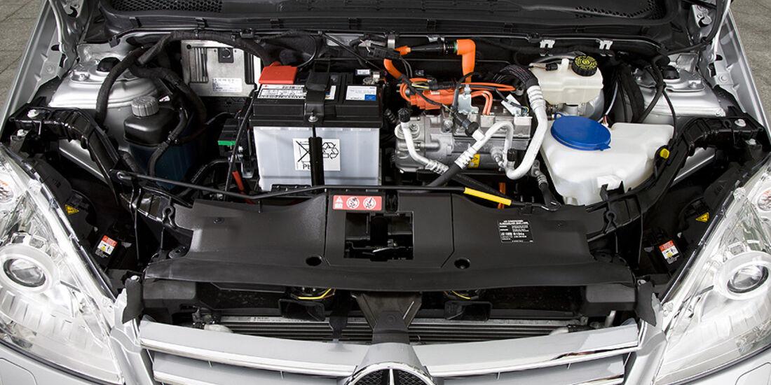 1210, Mercedes A-Klasse E-Cell, Elektromotor