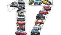 17 Autos, die man einmal fahren muss