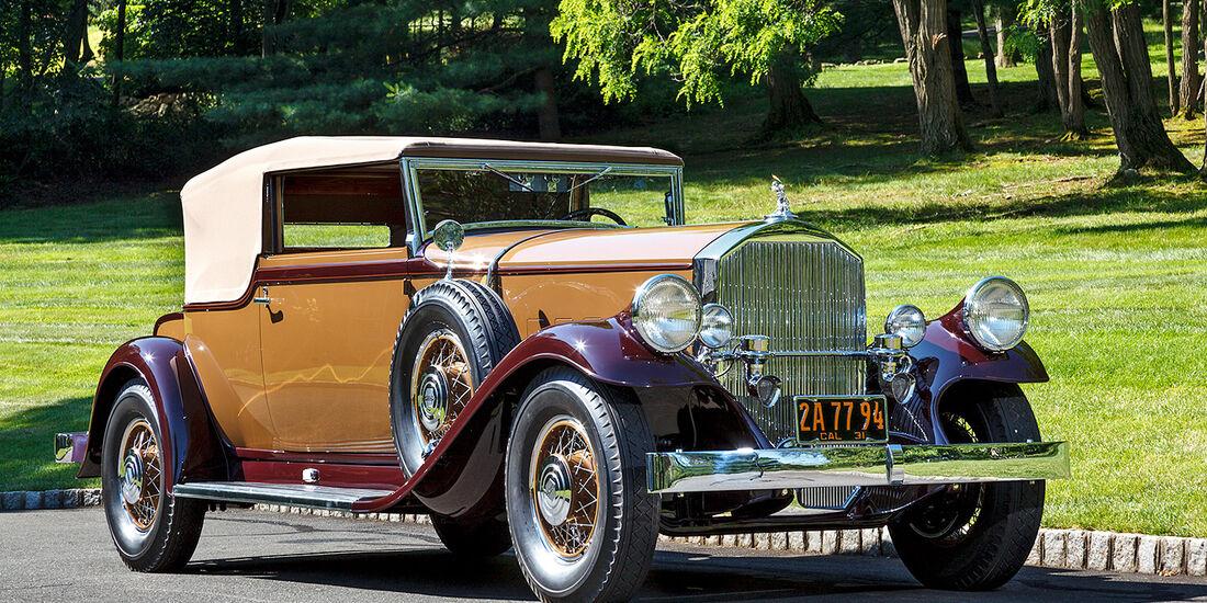 1931er Pierce-Arrow Model 41 Convertible Victoria by LeBaron