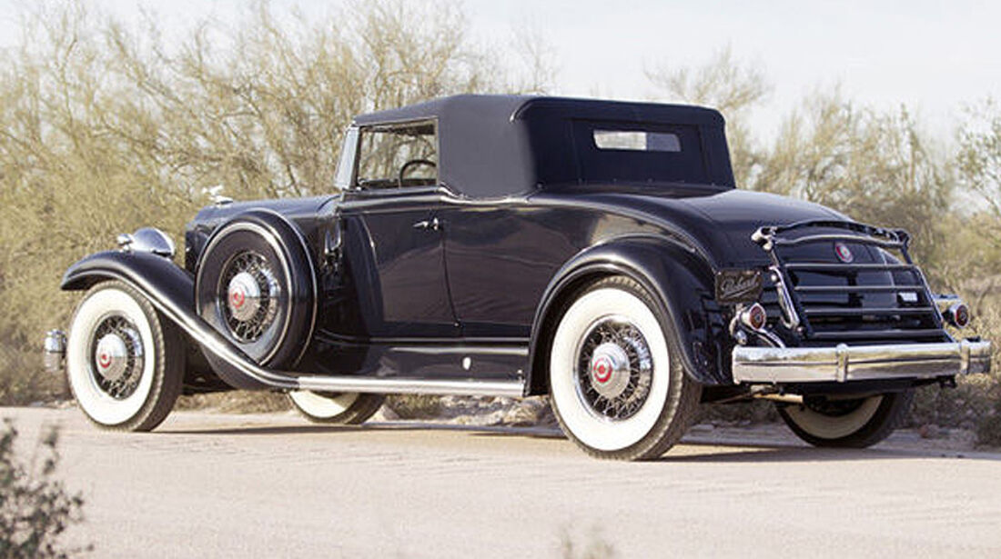 1932 Packard Twin Six Model 905 Coupe Roadster