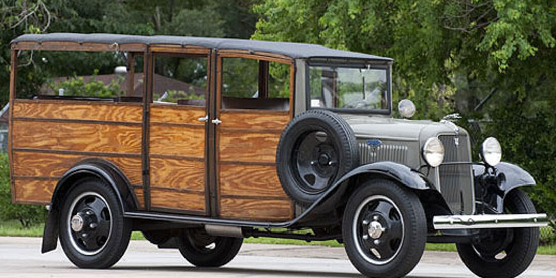 "1934er Ford ""Roy Rogers"" One-Ton Woodie Truck"