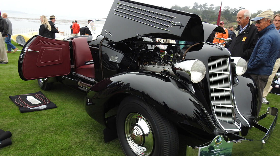 1936 Auburn 852 Speedster - Pebble Beach Concours d'Elegance 2016