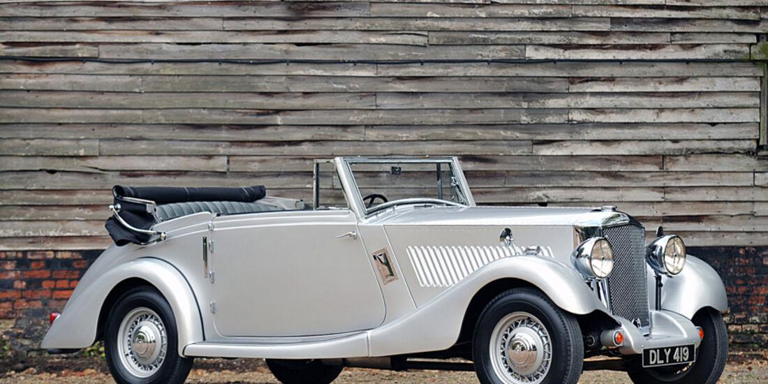 1936er Railton Eight MkII Drophead Coupe