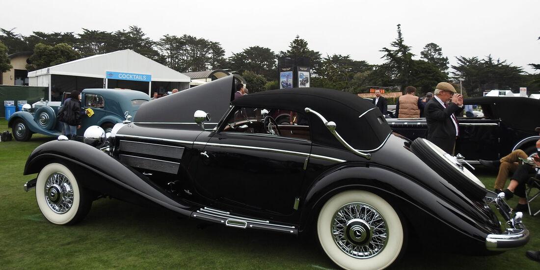 1937 Mercedes-Benz 540K Cabrio - Pebble Beach Concours d'Elegance 2016