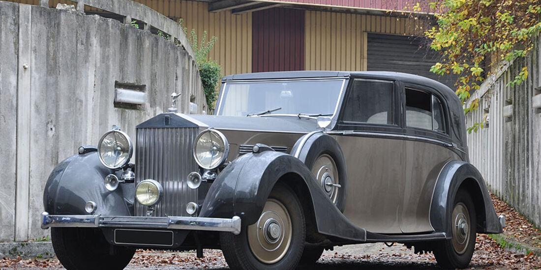 1937 Rolls Royce Phantom III coupé-