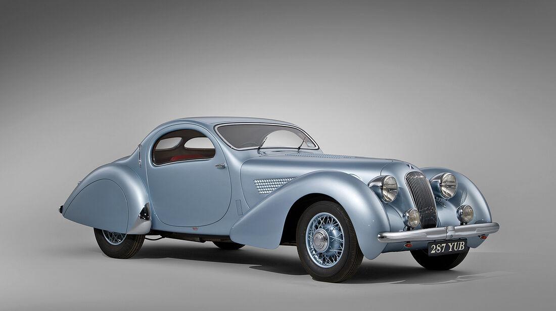 1938er Talbot-Lago T23 Teardrop Coupe by Figoni et Falaschi