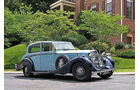 1939 Bentley 4¼ Liter 'Overdrive' 'High-Vision' Saloon Frontansicht