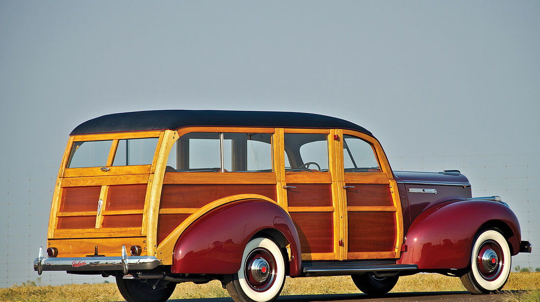 1941er Packard One-Ten Deluxe Station Wagon by Hercules