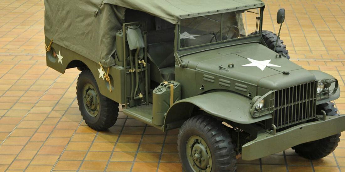 1942er Dodge WC 51 4x4 Pritschenwagen