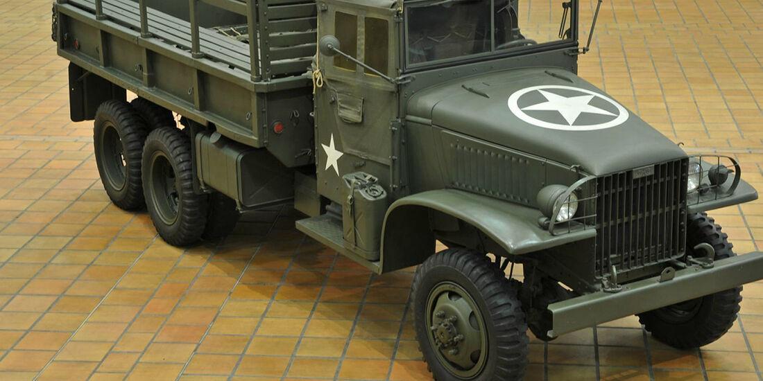 1943er GMC CCKW 3A1 6x6 Pritschenwagen