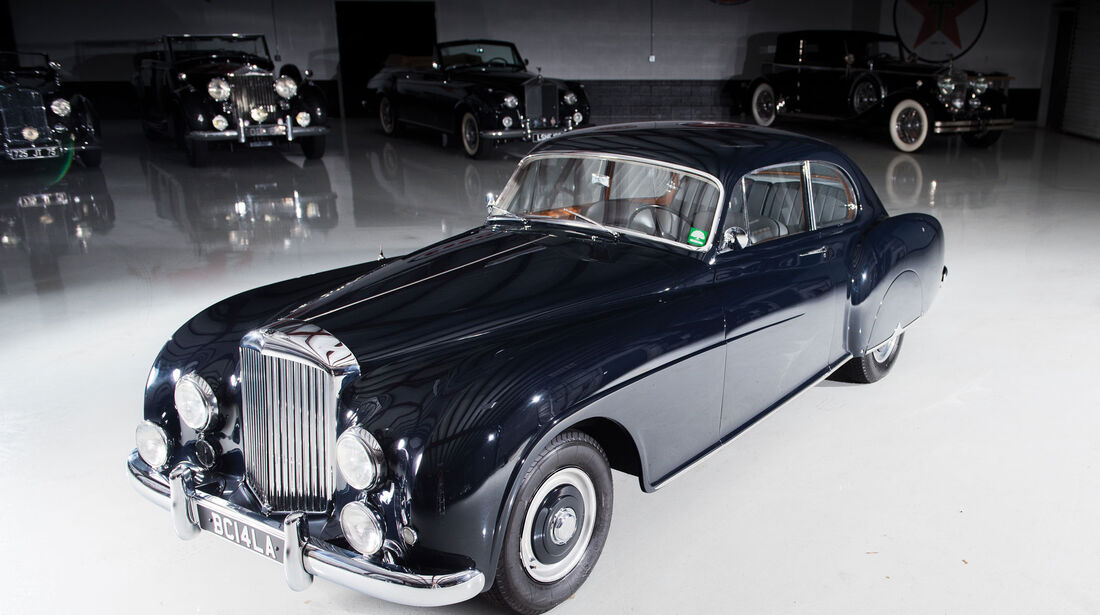 1952 Bentley R-Type Continental Fastback Sports Saloon by H.J. Mulliner
