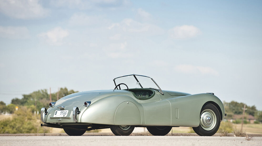 1952er Jaguar XK120 Roadster