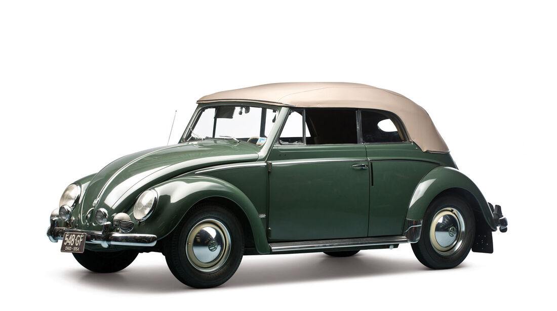 1954 VW Beetle 1200 Deluxe Cabriolet