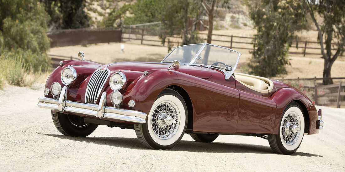 1956er Jaguar XK140 MC 3.4 Roadster