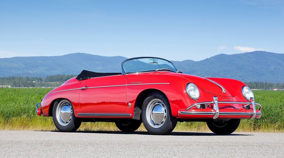 1956er Porsche 356A 1600 Speedster