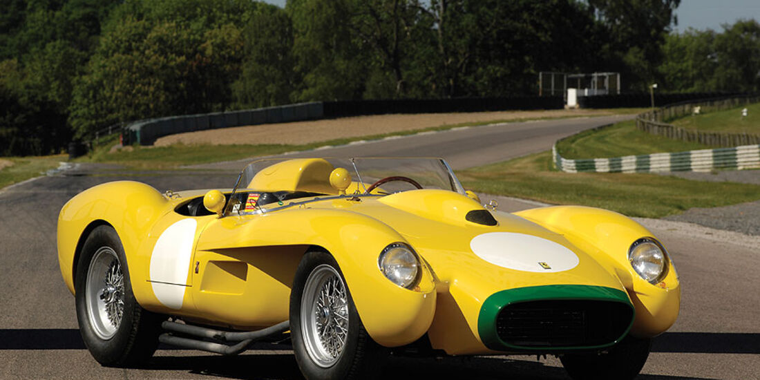 """1958er Ferrari 250 """"""""Pontoon Fender"""""""" Testa Rossa"""