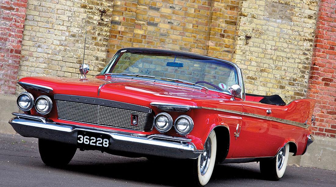 1961er Chrysler Imperial Crown Convertible
