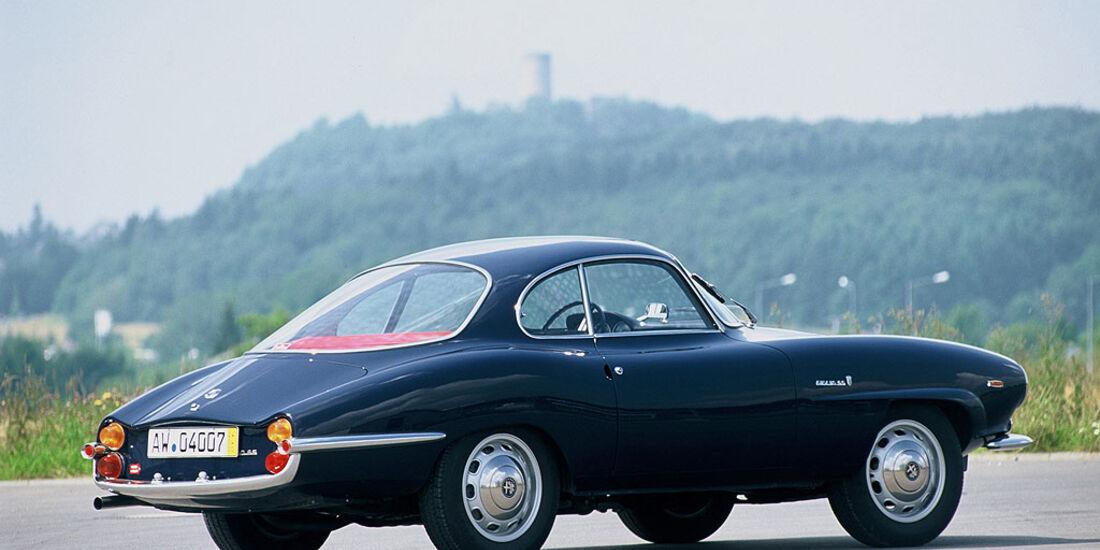 1963-1965 Alfa Romeo Giulia 1600 Sprint Speciale