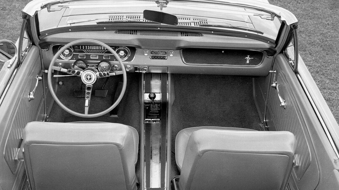 1965 Ford Mustang - Muscle Car - Lenkrad - Innenraum
