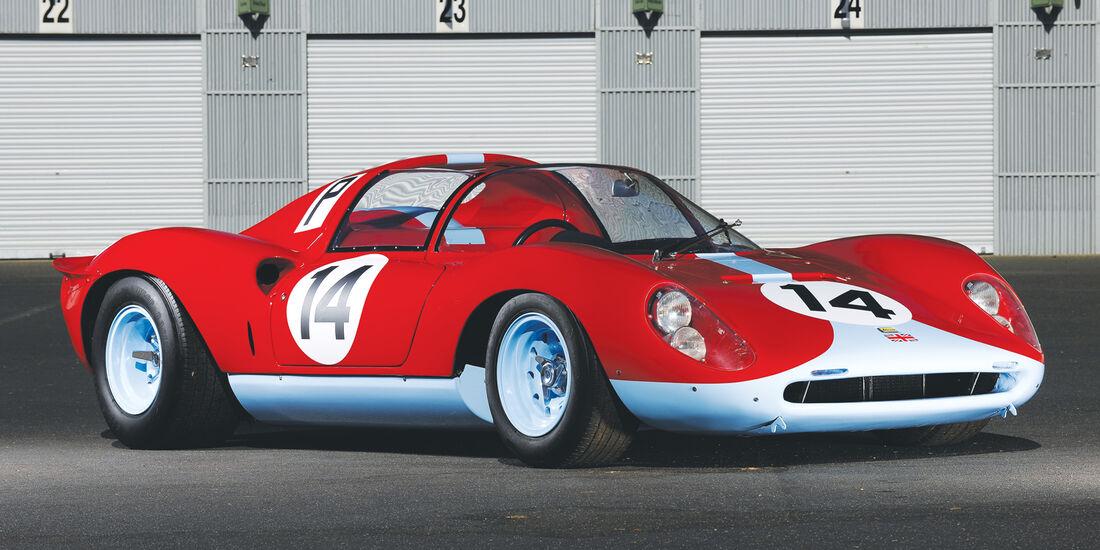 1966er Ferrari 206 S Dino Spyder