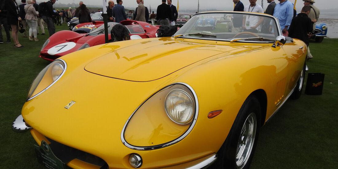 1967 Ferrari 275 GTB/4 Spyder - Pebble Beach Concours d'Elegance 2016