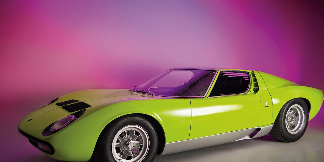1967er Lamborghini Miura P400 SV Conversion