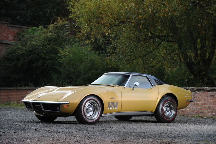 1969 Chevrolet Corvette Stingray Cabriolet.