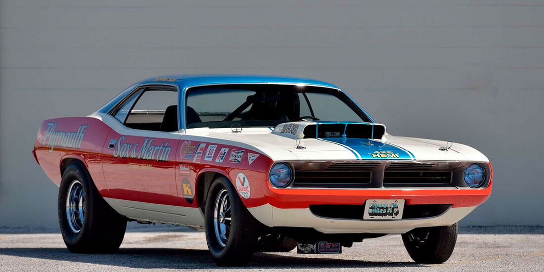 1970 Plymouth Hemi Cuda Sox & Martin Drag Car