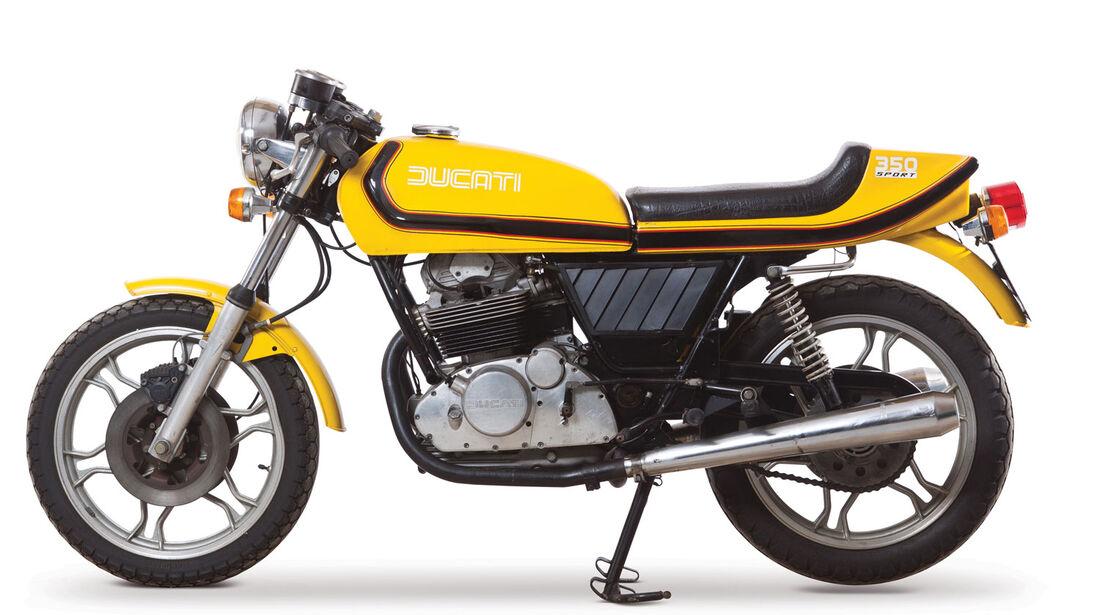 1980 Ducati 350 Sport Desmo RM Auctions Monaco 2012