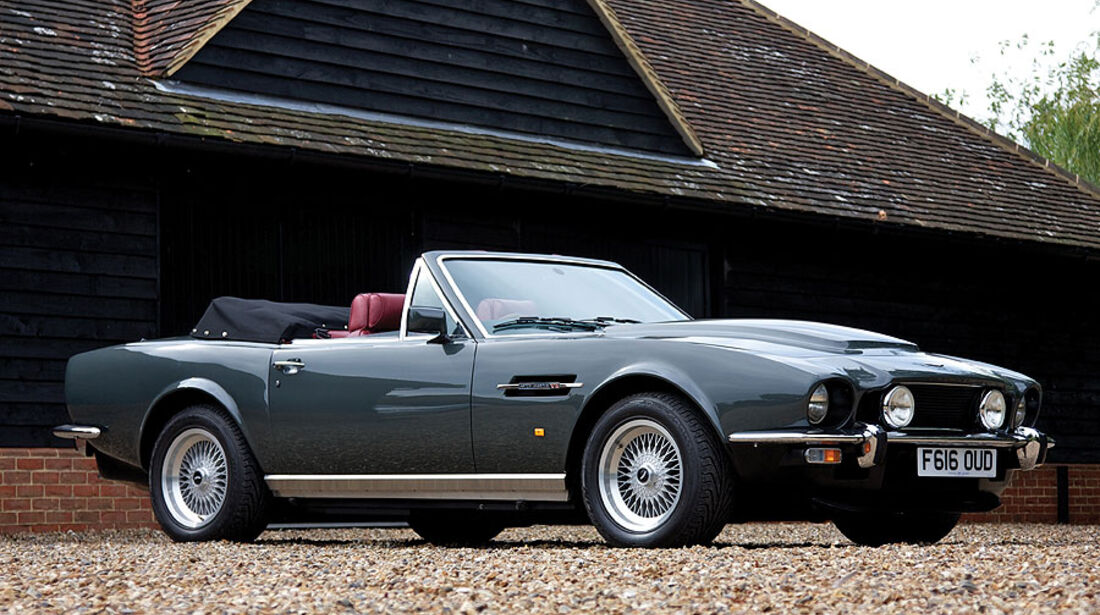 "1989er Aston Martin V8 Volante ""Prince of Wales"""