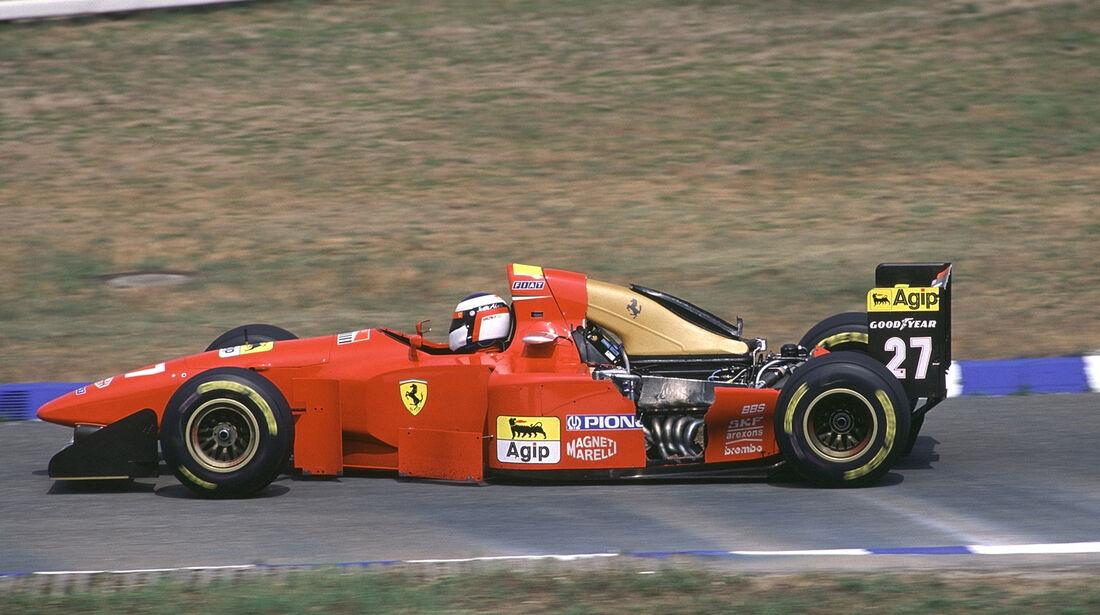 1994 Hockenheim Alesi Ferrari