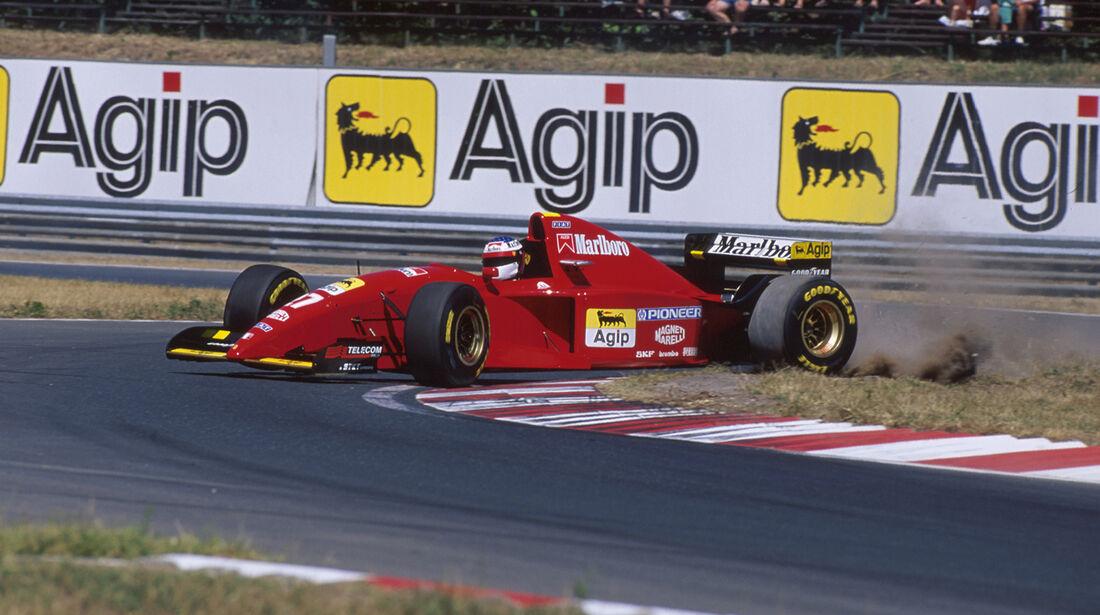 1995 Ungarn Alesi