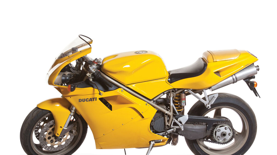 1996 Ducati 916 Biposto RM Auctions Monaco 2012