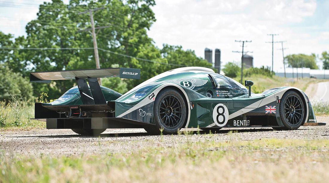 2001er Bentley Speed 8 Le Mans Prototyp Racing Car