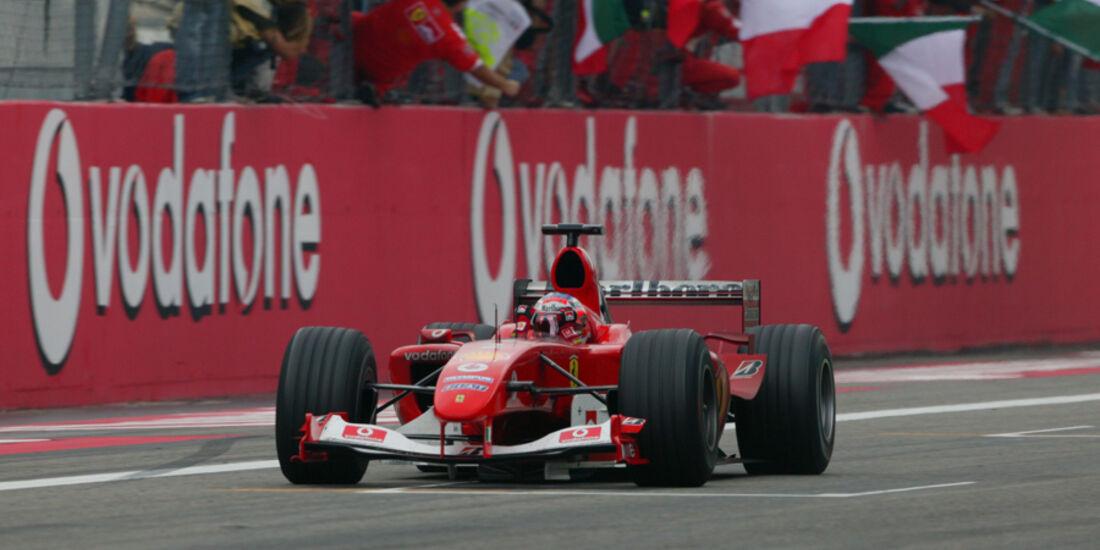 2004 GP Monza Barrichello