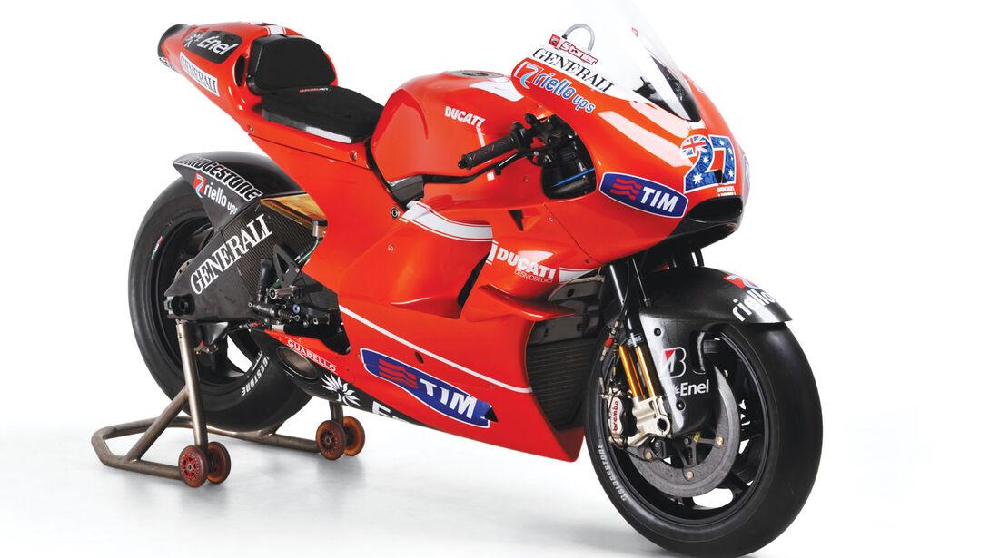 2010 Ducati Desmosedici GP10 CS1 RM Auctions Monaco 2012