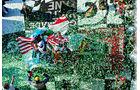 24h Daytona, Siegerehrung, Konfettiregen