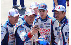 24h Le Mans 2015 - Scrutineering - Technische Abnahme - Toyota