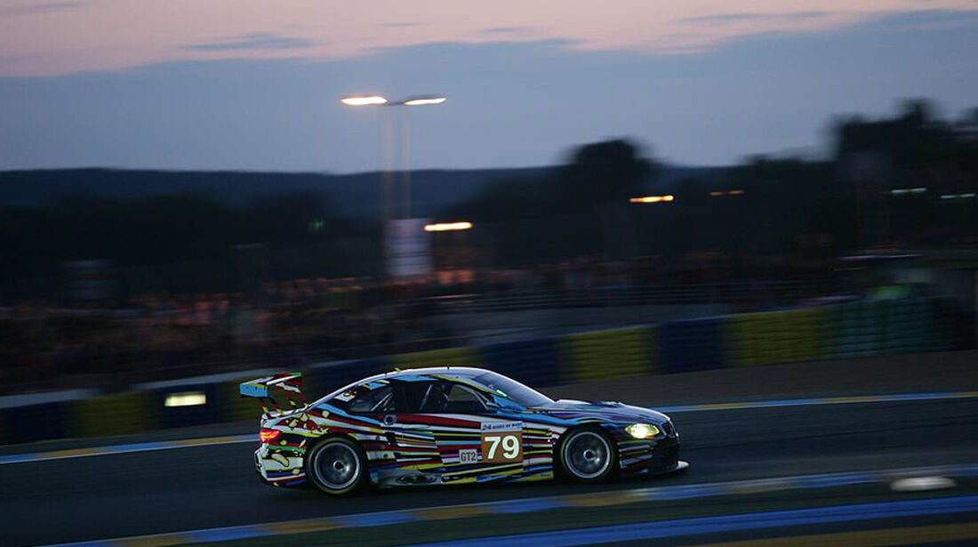 24h Le Mans BMW Art Car