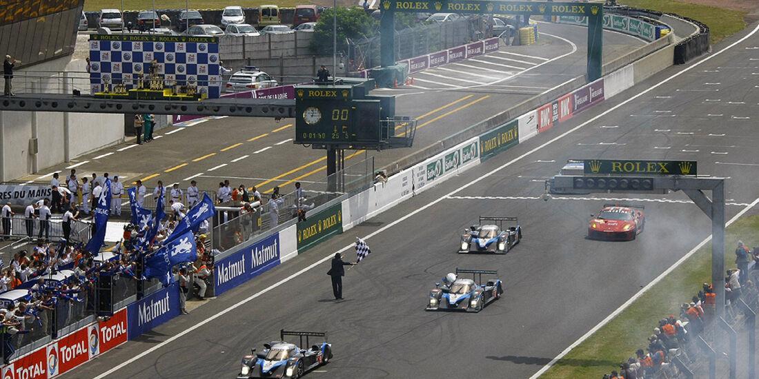 24h Le Mans Peugeot
