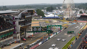 24h Le Mans, Rennszene