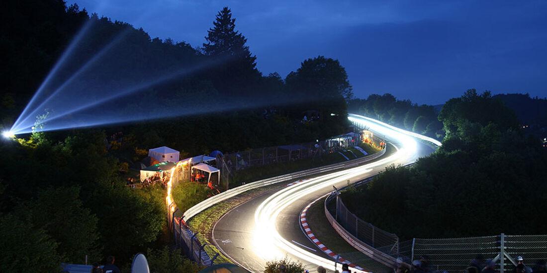 24h Rennen N�rburgring Atmosph�re Nacht