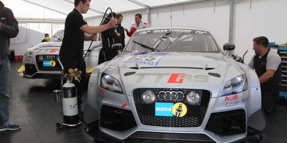 24h Rennen Nürburgring 2011 Audi TTRS