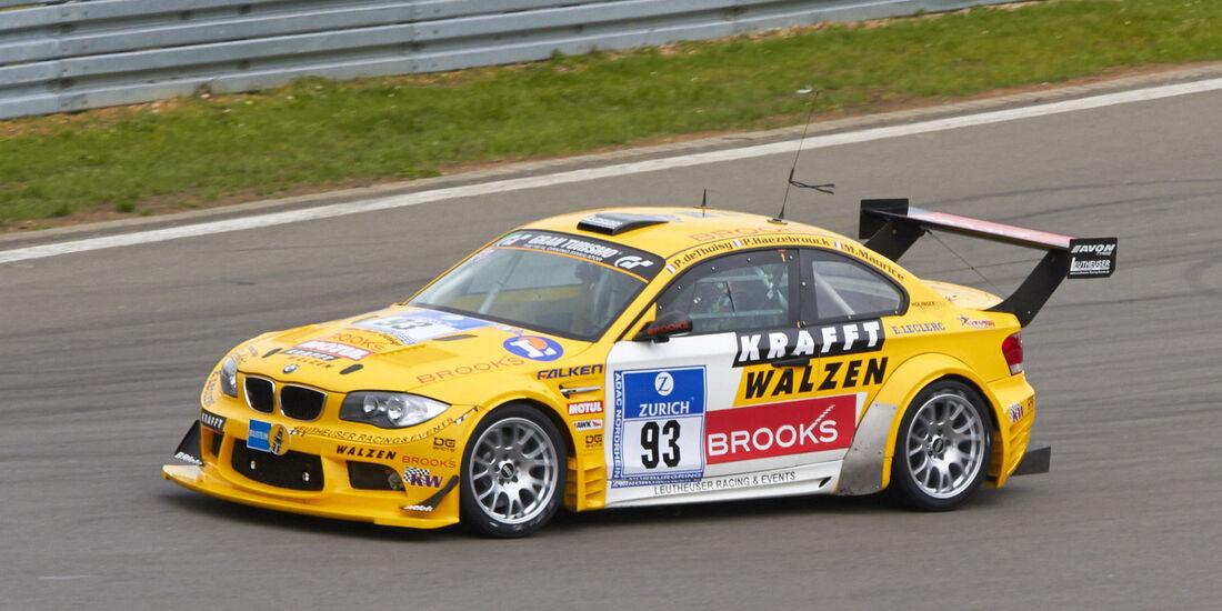 24h-Rennen Nürburgring 2013, BMW E82 M Coupé , SP 4 + SP 5, #93