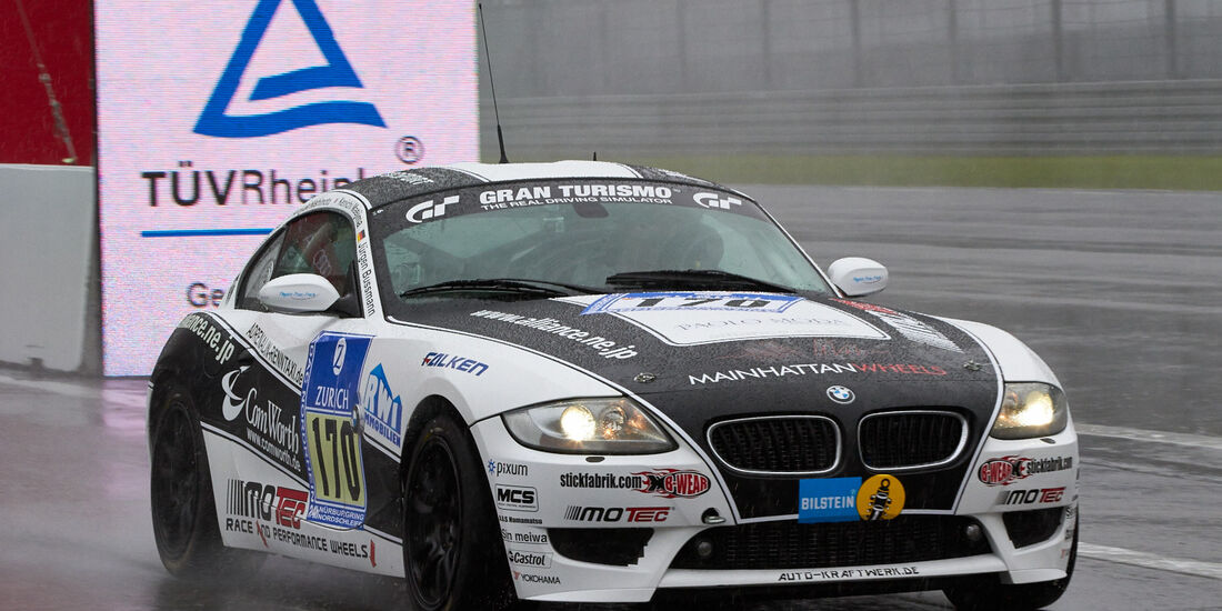 24h-Rennen Nürburgring 2013, BMW Z4 M , V6, #170