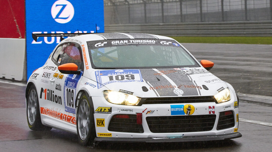 24h-Rennen Nürburgring 2013, Volkswagen Scirocco , SP 3T, #109
