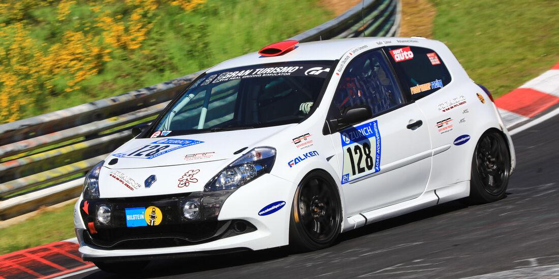 24h-Rennen Nürburgring 2017 - Nordschleife - Startnummer 128 - Renault Clio Cup - Roadrunner Racing - Klasse SP 3