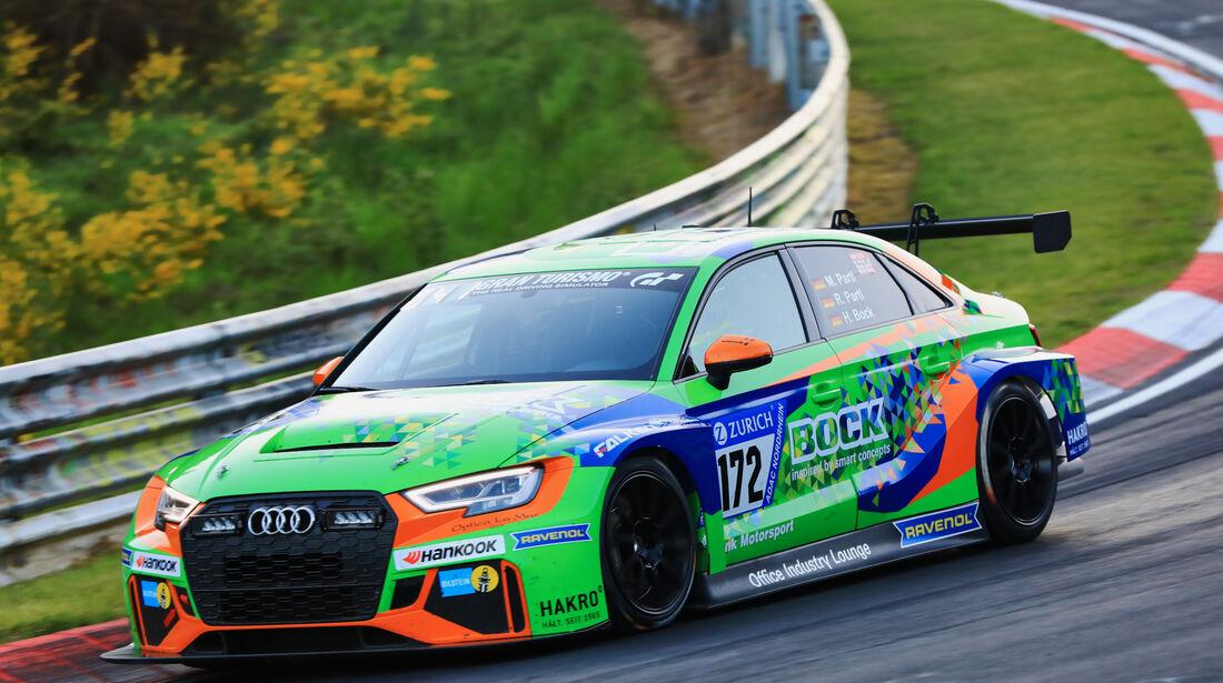 24h-Rennen Nürburgring 2017 - Nordschleife - Startnummer 172 - Audi RS3 LMS - Bonk Motorsport - Klasse TCR